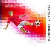 sport championship. france euro ... | Shutterstock .eps vector #245467990