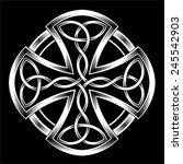 celtic cross   Shutterstock .eps vector #245542903