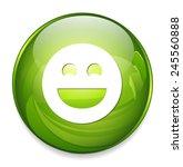 smiley face icon | Shutterstock .eps vector #245560888