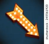 vector realistic 3d volumetric... | Shutterstock .eps vector #245561920