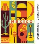 Vector Mexico Background
