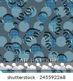 vector illustration of a... | Shutterstock .eps vector #245592268