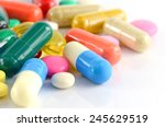 Colorful Of Oral Medications On ...