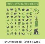 bio food  vegetables  fruits