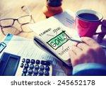 business inspiration target... | Shutterstock . vector #245652178