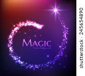 Magic Light Vector Background....