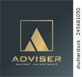 finance logo vector | Shutterstock .eps vector #245681050