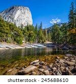 Merced River In Yosemite...