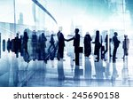 business people corporate... | Shutterstock . vector #245690158