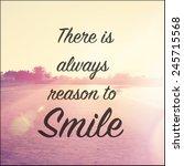 inspirational typographic quote ... | Shutterstock . vector #245715568