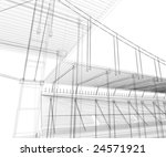 abstract architectural... | Shutterstock . vector #24571921