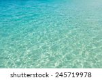 clear turquoise water in santa... | Shutterstock . vector #245719978