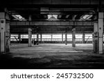 large industrial hall of a... | Shutterstock . vector #245732500