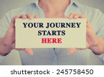 closeup businesswoman hands... | Shutterstock . vector #245758450