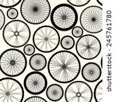 seamless background pattern.... | Shutterstock .eps vector #245761780