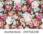 vintage style of tapestry... | Shutterstock . vector #245766148