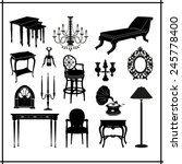 furnitures icons set great for... | Shutterstock .eps vector #245778400