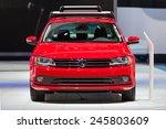 detroit   january 13  a...   Shutterstock . vector #245803609
