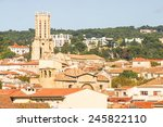 aerial view of aix en provence  ...   Shutterstock . vector #245822110