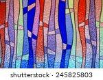 Multicolor Stain Glass...