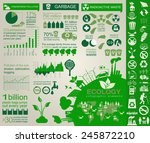 environment  ecology... | Shutterstock .eps vector #245872210