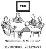 in business  employees often... | Shutterstock . vector #245896096