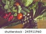 spring vegetables   Shutterstock . vector #245911960