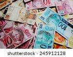 brazilian money | Shutterstock . vector #245912128