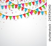 celebrate background. party... | Shutterstock .eps vector #245934340
