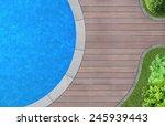 modern landscape architecture... | Shutterstock . vector #245939443