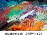 Palette And Palette Knife