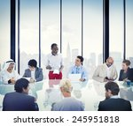 business people corporate... | Shutterstock . vector #245951818