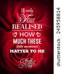 digitally generated valentines... | Shutterstock .eps vector #245958814