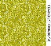 healthy diet seamless pattern.... | Shutterstock .eps vector #245959966