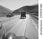 on u.s. 99. in kern county on... | Shutterstock . vector #245965180