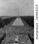 1963 March on Washington. A view of over 200,000 marchers along the Capitol mall. Aug. 28, 1963