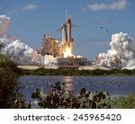 Launch Of Atlantis  The 66th...