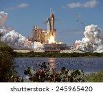 Launch Of Atlantis  The 66th...