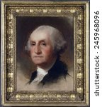 Portrait Of George Washington...