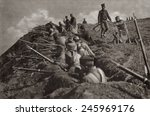 Wwi. Serbia Trench Position At...