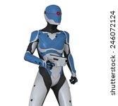 robot | Shutterstock . vector #246072124