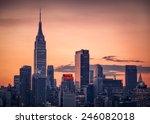 new york   november 29  2014  ... | Shutterstock . vector #246082018