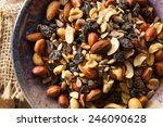 Raw Organic Homemade Trail Mix...
