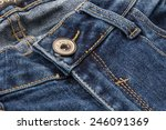 Blue Jeans Texture Or Detail