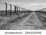 Electric Fence In Former Nazi...