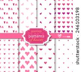 light seamless pencil patterns...