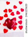 valentines heart | Shutterstock . vector #246125620
