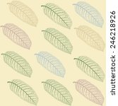 vector seamless pattern with ... | Shutterstock .eps vector #246218926