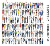 people diversity success... | Shutterstock . vector #246222988