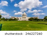 Stock photo us capitol one of the most recognizable historic buildings in washington dc 246227260